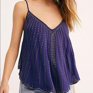 Free People Free Fly Embellished Cami